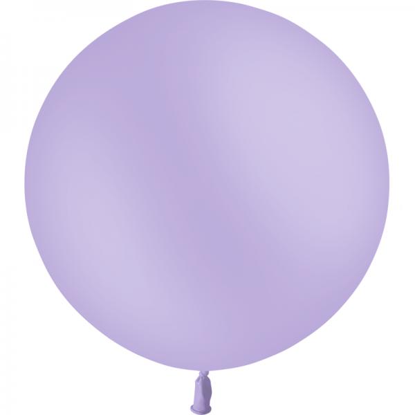 1 ballon 60cm lavande pastel matte
