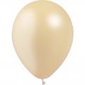 100 ballons Ivoire métal 28 cm