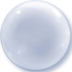 bubble ballon transparent 61 cm diamètre68824 QUALATEX Cristal