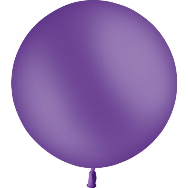 1 ballon 60 cm violet
