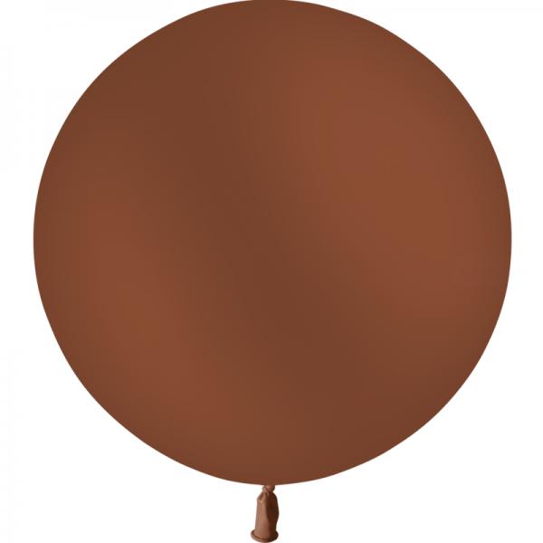 1 ballon 60cm chocolat