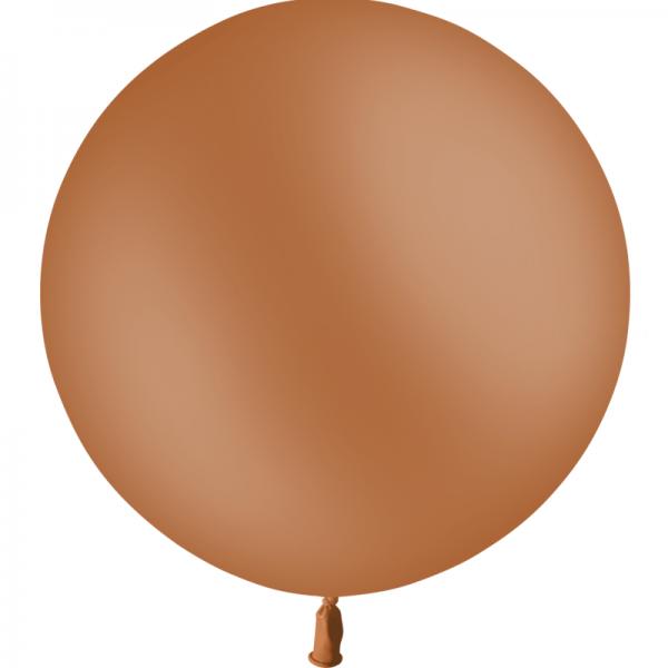 1 ballon 60cm marron