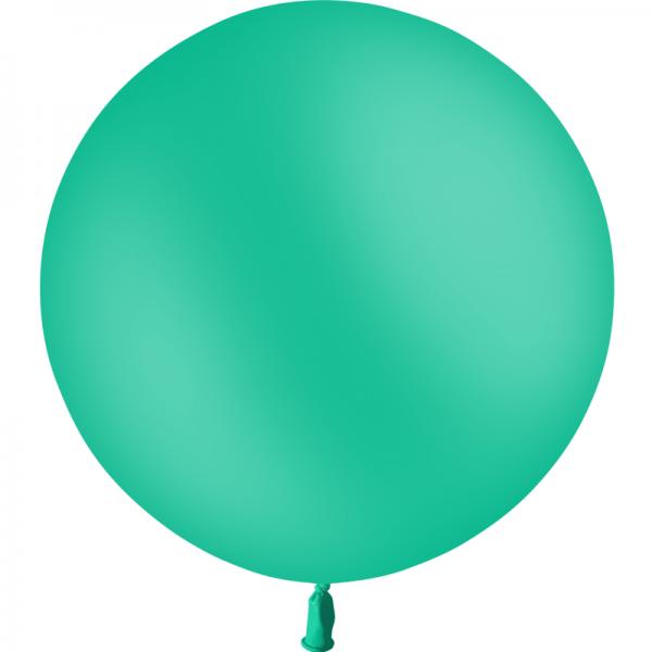 1 ballon vert menthe 60 cm