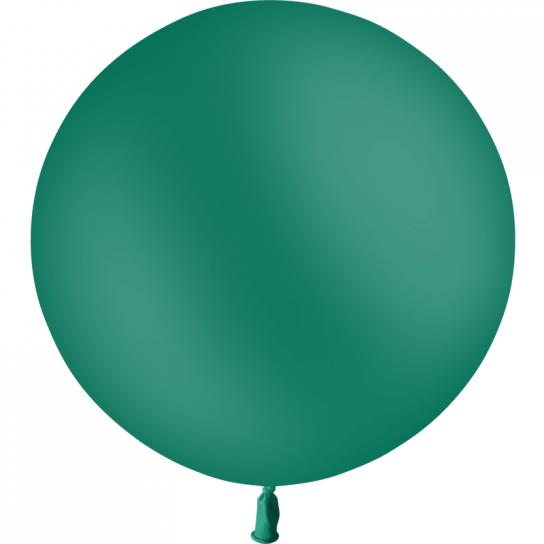 1 ballon vert foret 60 cm