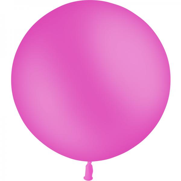 1 ballon 90 cm fuschia opaque