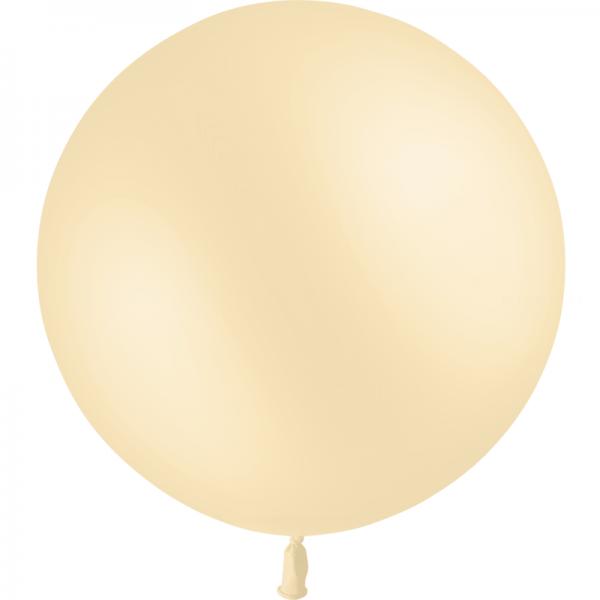 1 ballon 90 cm ivoire