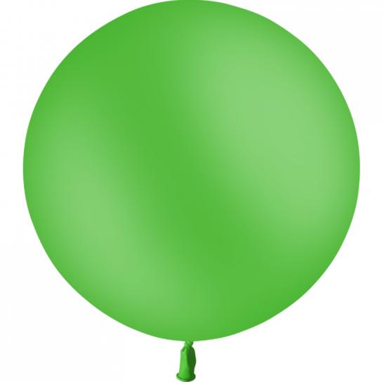 1 ballon baudruche 90 cm vert