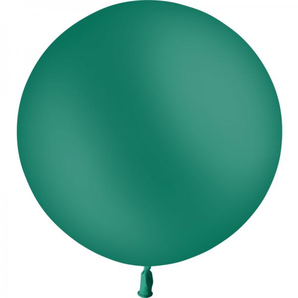 1 ballon baudruche 90 cm vert foret