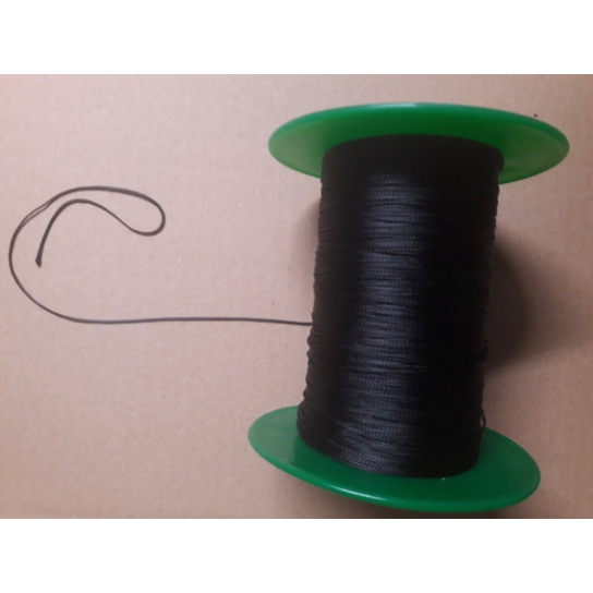 1 bobine fil dacron noir pour arches ballons 274 m