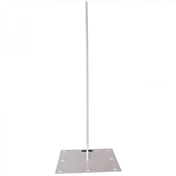 pied colonne métal hauteur 216 cm