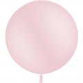 1 ballon baudruche 90 cm rose pastel mat