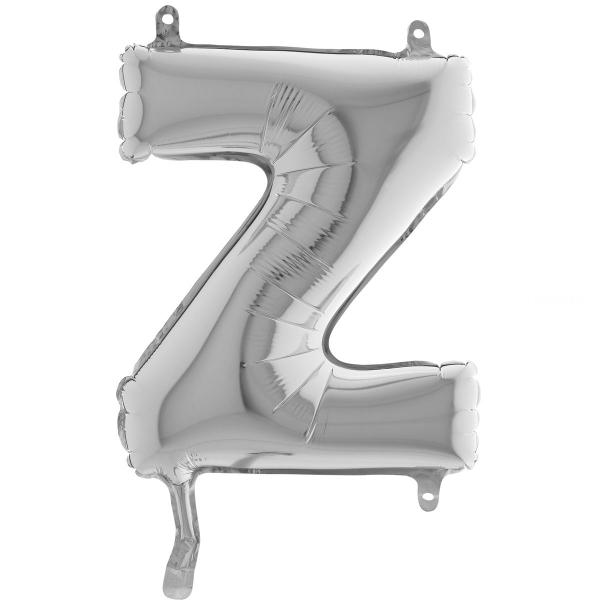 Z lettre 35 cm mylar argent