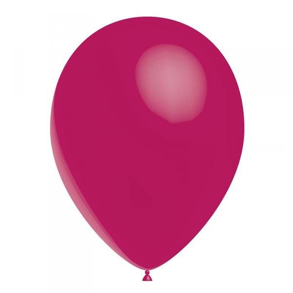 24 ballonsfFuschia opaque 24 cm