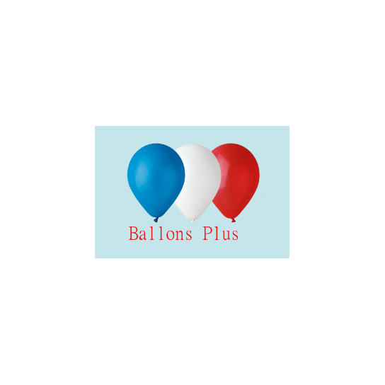 50 ballons assortis opaque 28 cm