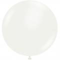 ballon 43 cm diamètre blanc