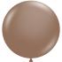 1 ballon 43 cm diamètre cocoa