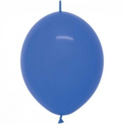 Link o loon 30 cm opaque bleu 041 SEMPERTEX Double Attaches 30Cm Opaques Vifs Et Pastels