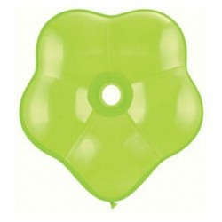 qualatex géo blossom 40 cm de diamètre vert lime en poche de 5 QUALATEX Ballons 35 cm diamètre