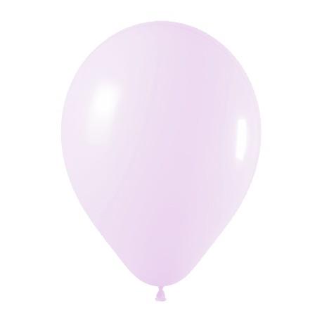 sempertex 30 cm pastel lilas 150 poche de 50