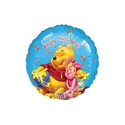 winnie et porcinet se régale de miel happy birthday