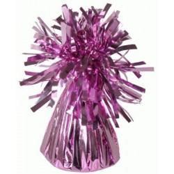 contrepoids à frange rose 170 grs Lestes Pour Ballons,Poids Ballons, Contrepoids Ballons