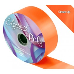 ruban bolduc large 50 mm orange91M Ruban Large Couleurs Unis (Poly Ribbon)