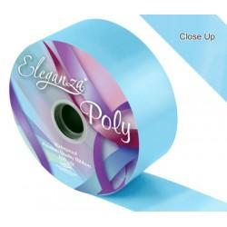 ruban bolduc large bleu ciel 50 mm * 91M4897 Ruban Large Couleurs Unis (Poly Ribbon)