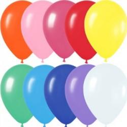 50 ballons sempertex 30 cm mélange opaques vifs11 000 SEMPERTEX 30 cm Opaque Sempertex