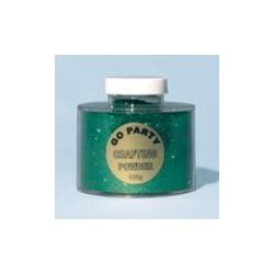 poudre paillette vert emeraude en sachet de 10 grs poudre paillettes et stylos colle pour décoration