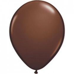 25 ballons qualatex 28 cm couleurs chocolat