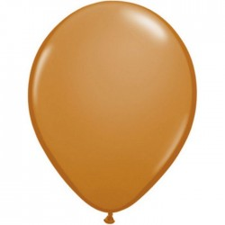 25 ballons qualatex 28 cm couleurs mocha