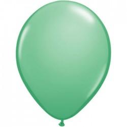 25 ballons qualatex 28 cm couleurs vert hiver