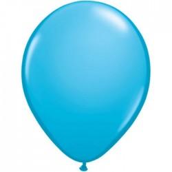 25 ballons qualatex 28 cm couleurs bleur robin's egg