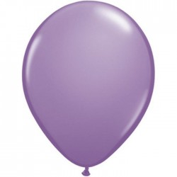 qualatex lilas 28 cm poche de 25