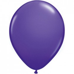 25 ballons qualatex 28 cm couleurs violet