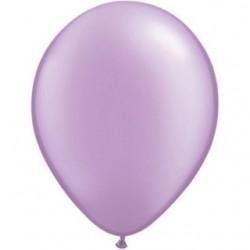 qualatex perlé lavande 28 cm poche de 2543778 pl q28 p25 QUALATEX 28 cm Perle Pastel (Satin, Nacré, Perlé) 28 cm Ø Ballons Q...