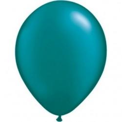 perlé turquoise 28 cm en poche de 2543787 pt q28 p25 QUALATEX 28 Cm Perlés Foncés (Satin, Nacré, Perlé,Métal) 28 Cm Ø Ballons...