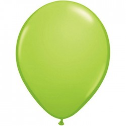vert lime 12.5 cm poche de 100