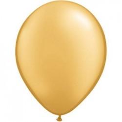 qualatex or (gold) 12.5 cm en poche de 10043560 or qualatex 12 cm QUALATEX 12 Cm Metal 12 Cm Ø Qualatex