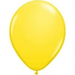 jaune opaque 12.5 cm poche de 100
