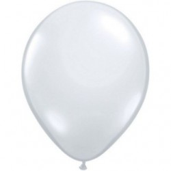5 ballons Qualatex 40 cm transparent