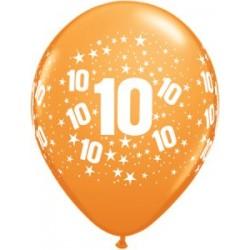 10 ans baudruche imprimé tout autour en poche multicouleur de 51407_1244665995 Ballons