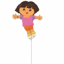 dora mini ballon mylar Mini Amis Des Enfants