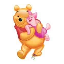 Winnie mini mylar vendu non gonflé
