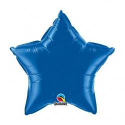 Etoile bleu saphir mylar 50 cm