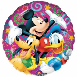 ballon alu mickey celebration