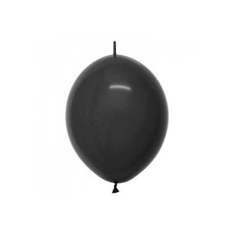 fashion solid noir link o loon 15 cm diamètre SEMPERTEX 15 cm Double Attache Sempertex