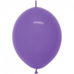 Link o loon 15 cm violet opaque en poche de 50