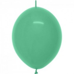 ballon vert 030 link o loon 15 cm en poche de 50 SEMPERTEX 15 cm Double Attache Sempertex