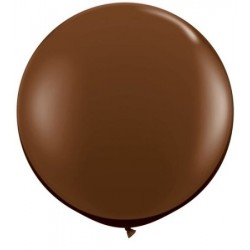 chocolat qualatex 90 cm par 183659 3c1 QUALATEX 90 Cm Opaques 90 Cm Ø Qualatex